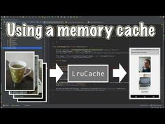 How to setup a memory cache using android's LruCache. This method creates a dramatic improvement in the scrolling performance of the android image gallery.