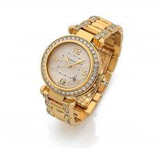 CARTIER Pasha, ref. 2397, n° 306878MG, vers 1990 Montre bracelet de dame en or jaune 18K (750)