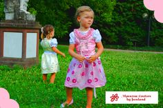 Alpenrose couture for kids ~ couture dirndl girls dress from germany
