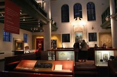 The Jewish Historical Museum (Joods Historisch Museum) is a fine Jewish museum in the heart of Amsterdam's old Jewish Quarter. Housed in a grand 17th-century synagogue complex, the museum displays Jewish religious objects as well as Jewish art, historical artifacts, and multimedia presentations.