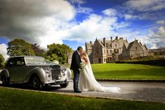 Select the Perfect Wedding Venues to Create Best and Unique Wedding Photos : Wonderful Bride Groom Outside Castle Leslie Hotel Wedding, Destination Wedding, Wedding Venues, Wedding Photos, Wedding Planning, Perfect Wedding, Dream Wedding, Pineapple Images, White Wedding Dresses