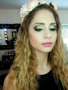my makeup for my lovely girl