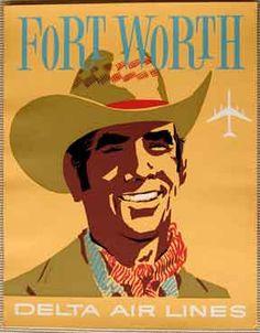 Ya Hoo! My hometown!! Fort Worth - where the West begins!