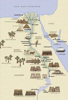 ancient historical places in egypt Ancient Egyptian Art, Ancient History, Ancient Map, Egyptian Pyramid, European History, Ancient Artifacts, Ancient Aliens, Ancient Greece, Egypt Map