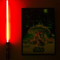 Star Wars Bedroom - Connor (wants to use Paul's light saber as his night light :))