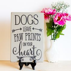 Cute sign for Pet Parents of Doggies :-) https://www.etsy.com/listing/268804399/dog-quote-dog-wall-art-dog-sign-dog-art