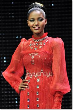 MISS ISRAEL WORLD 2013 - Yityish Titi Aynaw (born 1992) is an Israeli of Ethiopian origin beautyqueen who became the first from the Ethiopian Israeli immigrant minority to be crowned Miss Israel 2013. Aynaw is also the first black Miss Israel winner.
