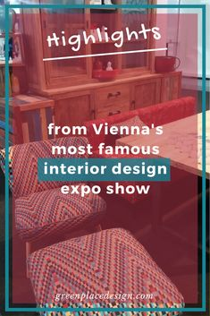 Highlights to remember from Vienna's most famous interior design expo show Wohnen und Interieur 2017 Cool Furniture, Furniture Ideas, Furniture Design, Interior Design Shows, Source Of Inspiration, Furniture Inspiration, Vienna, Austria, Craftsman