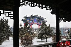 Gallery: Gorgeous images of snowscapes in northern China: Shanghaiist