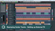 Cubase Quick Tips - Reamping Guitar Tracks - Setting Up External FX
