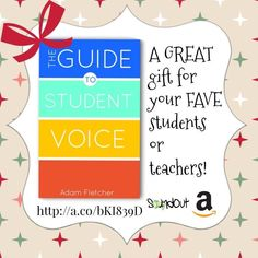 The Guide to Student Voice, Edition Student Voice, Student Gifts, Happy Holidays, The Voice, Education, Learning, Books, Happy Holi, Libros