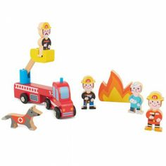 Janod Fire Station Play World