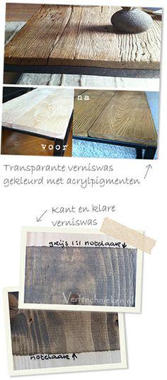 vergrijzen met verniswas via verftechnieken.nl