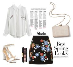"""Shein"" by zerina35-1 ❤ liked on Polyvore featuring H&M, Topshop, Kayu, Yves Saint Laurent and Schutz"