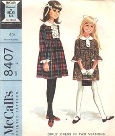 McCall's 8407 by Helen Lee © 1966.