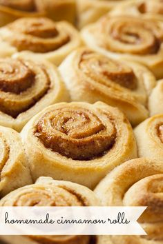 Homemade cinnamon rolls are easier to make than you'd think! We're walking you through it step-by-step so you can start making cinnamon rolls at home too!