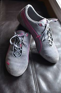 PUMA Fashion Lace Up Sneakers Pink Gray Suede. 7 1/2 Buy now on Ebay $30