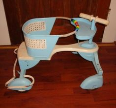 "Found on EstateSales.NET: 1940's - 50's TAYLOR TOT STROLLER/WALKER ""WOOD & METAL"" Vintage Pram, Vintage Love, Retro Vintage, Antique Nursery, Toys For Boys, Boy Toys, Retro Futuristic, Old Things, Baby Things"