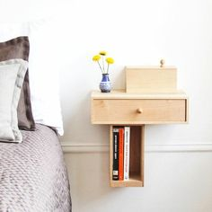 Create an alternative bedside table for your bedroom! Here are 20 ideas…