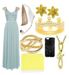 """""""Rosalina inspired outfit"""" by gingerjane10 ❤ liked on Polyvore featuring Lord & Taylor, Untold, Aqua, Bling Jewelry and Accessorize"""