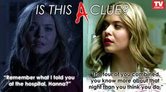 Still trying to figure out Ali's clue to Hanna from last night's #PLL? Read our review: