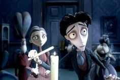 A scene from The Corpse Bride by Tim Burton