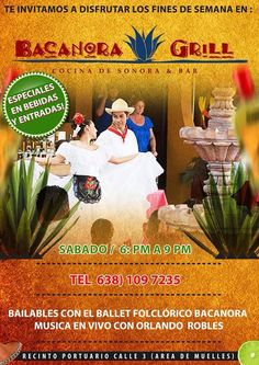 Bailables Bacanora Grill