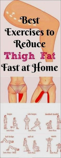 Best 7 Exercises to Lose Upper Thigh Fat Fast in 7 Days #LosingWeightFaster--