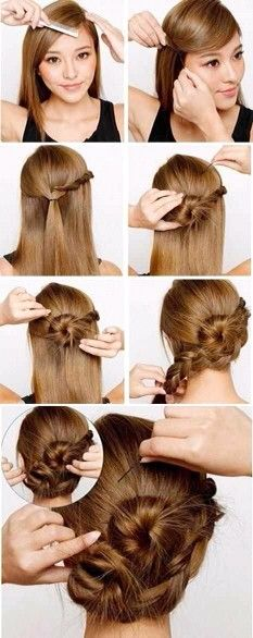 Braid for elegant ocasion