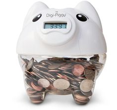 digi-piggy... keep track of change.