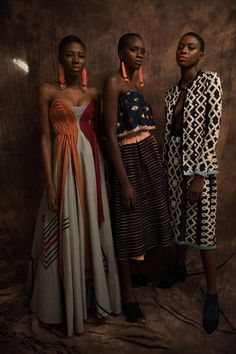 See the Best of ARISE Fashion Week 2018 Through Trevor Stuurman's Lenses for British Vogue African Inspired Fashion, African Men Fashion, Africa Fashion, African Wear, African Style, Covet Fashion, Look Fashion, Fashion Beauty, Fashion Outfits