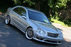 Mercedes C55 Amg, Merc Benz, Classic Mercedes, C Class, Benz Car, Custom Cars, Dream Cars, Automobile, Slammed
