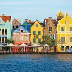 Going Dutch: Historic Colonial architecture defines Willemstad's waterfront. Coastalliving.com