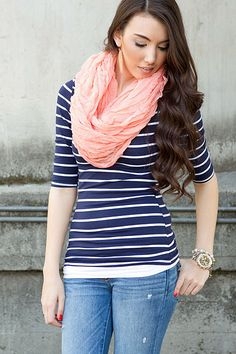 Strips Ahoy Tee - perfect for warmer weather coming! $22.99 via Jane