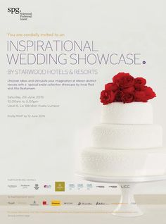 EXCEPTIONAL WEDDINGS – A bridal showcase by Starwood Hotels & Resorts Malaysia Join The Starwood Hotels & Resorts Malaysia , KIDCHANSTUDIO & other premier lifestyle brand like Weddings Malaysia, Mouawad, Truefit & Hill, Caramel Designs, Bridal Glam, Alia Bastaman, Innai Red,Maybank, Wadrobe, Cash and Christofle for a captivating and passionate bridal showcase at Le Meridien