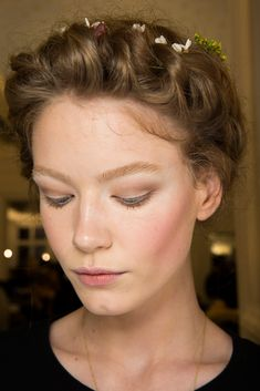 Valentino Couture Spring 2015 #makeup