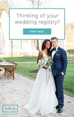 Zola, the wedding company that'll do anything for love, is reinventing the wedding planning and registry experience with a free suite of planning tools. Wedding 2017, Wedding Events, Wedding Gowns, Our Wedding, Dream Wedding, Weddings, Wedding Things, Wedding Stuff, Future Mrs