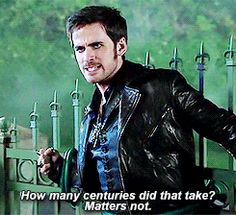 That Gold had him at his mercy and intended to force him to watch as he killed another woman Killian loves....Let's just say it's almost too much to ask me to handle.