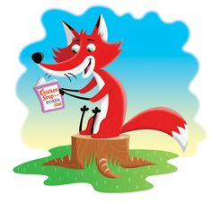 Even foxes have to chillax sometimes