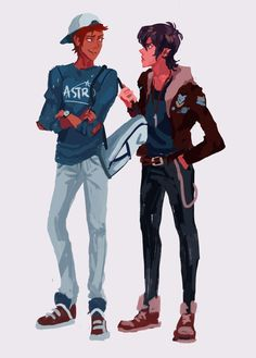 VLD fanart - Keith and Lance Fashion Buds