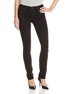 c08ecb5145ee9e Hudson Women's Tilda Midrise Straight Jean In Black, Black, 25 Hudson Jeans  http: