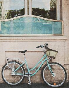 Paris and the Tiffany Blue Bike