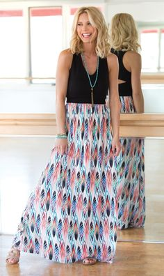 feather cut out maxi dress