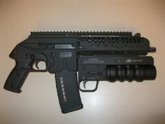Not an AR15 but that Keltec PLR-16 is pretty sick. Not to mention the flare launcher - Yosten