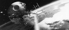 """Todesstern aus """"Star Wars Episode VI: Die Rückkehr der Jedi-Ritter"""" (1983): Auch wenn gewaltige Energiemengen nötig sind, um einen fremden Planeten zu vernichten - ein mit einem Mega-Laser bestückter Todesstern kann das durchaus schaffen."""