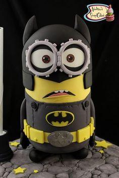 Minion + Batman + Cake = Best Birthday ever!