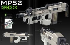 ArtStation - SIEGE issue 01, ECHO LIMA Future Weapons, Concept Weapons, Cool Magazine, Lima, Hand Guns, This Is Us, Cool Stuff, Artwork, Design