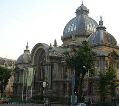 Palatul CEC - Destinatii turistice Romania - Femeia Stie.ro
