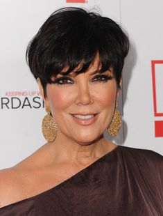 Kris Jenner Short Straight Cut