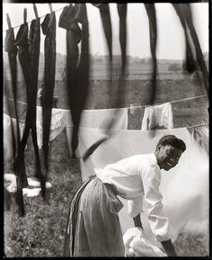 Fotograaf: Getrude Kasebier / Newport Laundress: 1902